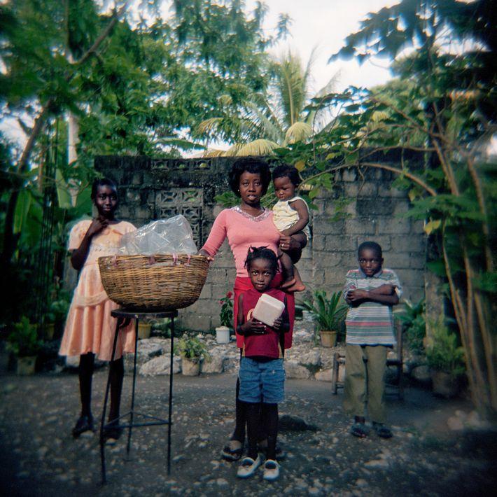 """I buy bread from her every day,"" Haitian photographer Smith Neuvieme said of fellow islander Manuela ..."