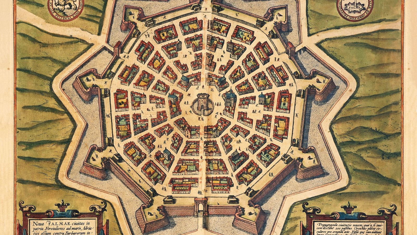 This engraving appears in Civitates Orbis Terrarum (Cities of the World), an atlas of city maps ...