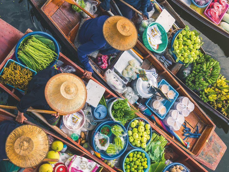 Bangkok, according to Kay Plunkett-Hogge