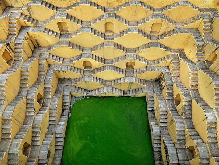 Stepwell #2. Panna Meena, Amber, Rajasthan, India