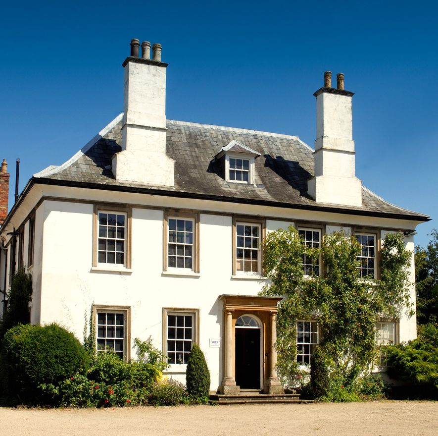 This is the house in Berkeley where Edward Jenner was born. Jenner lived and practiced medicine ...