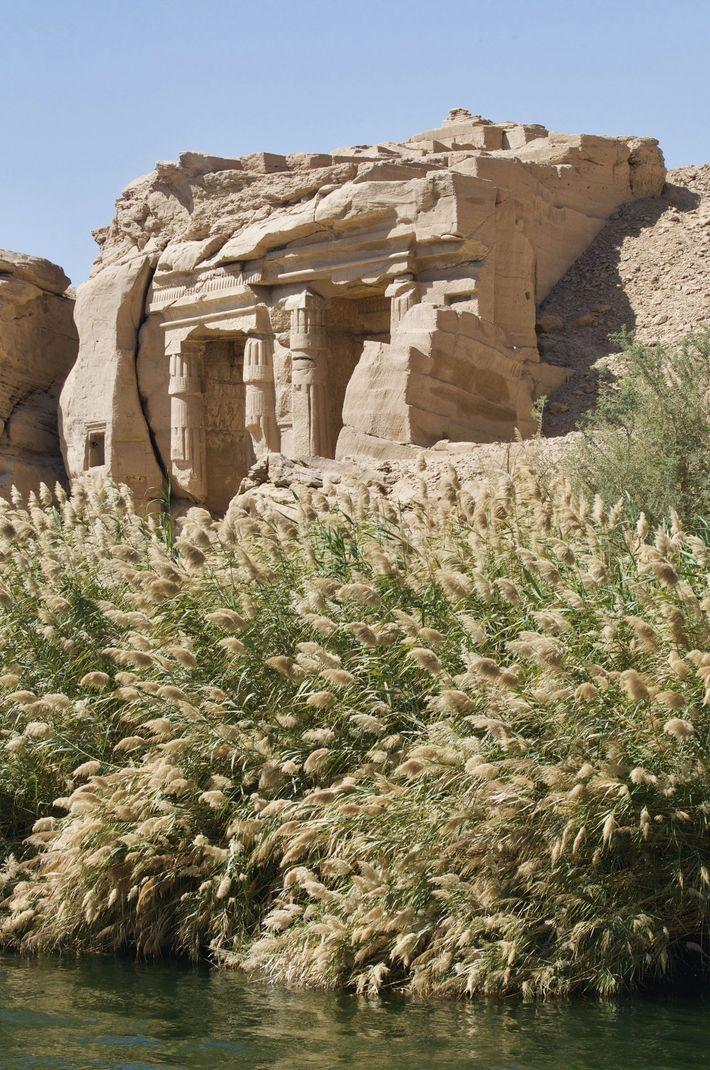 The royal sandstone quarry of Gebel el-Silsila