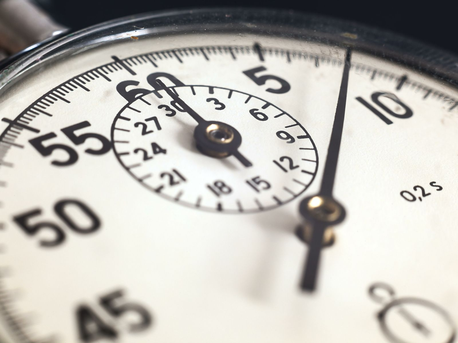 Clock stopwatch