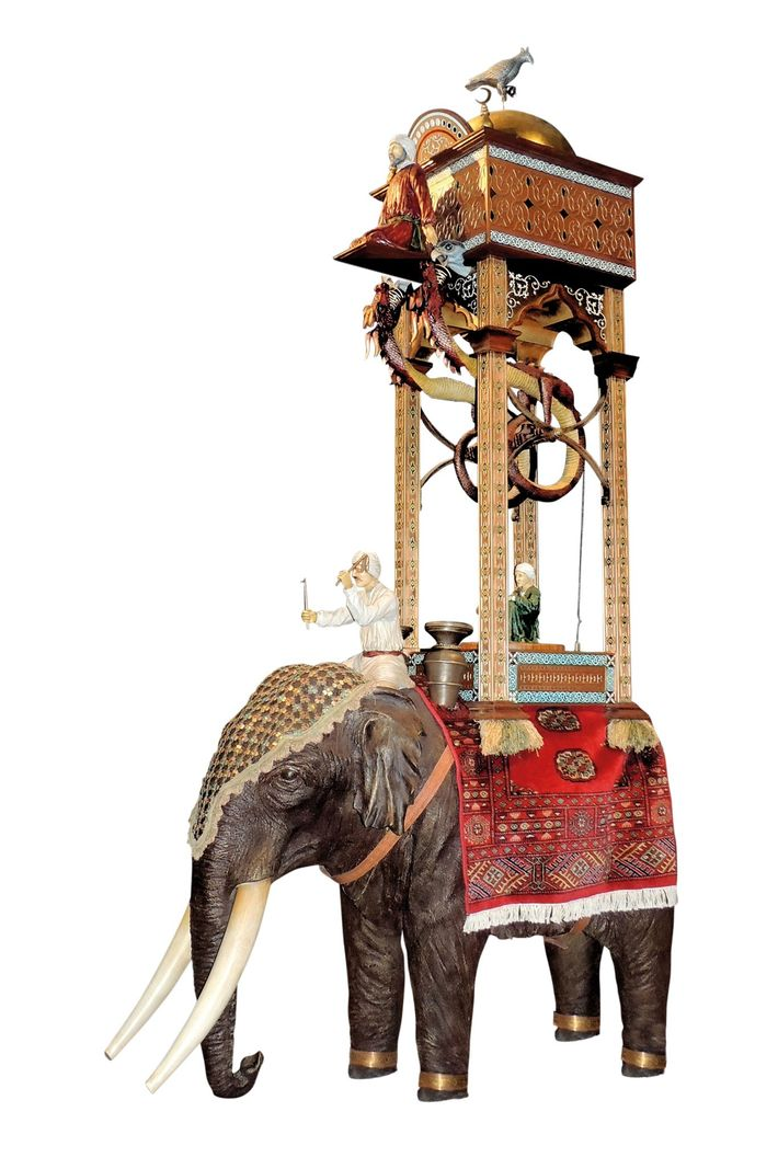 Al-Jazari's most iconic invention is his elephant clock, which continues to delight today. Modern reproductions of ...