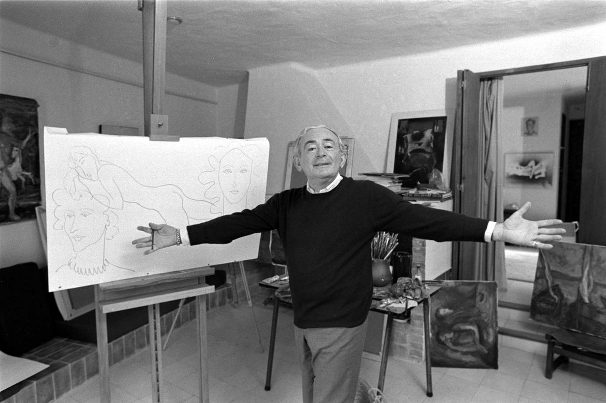 Born in 1906, Elmyr de Hory was a Hungarian-born painter and art forger who is said ...