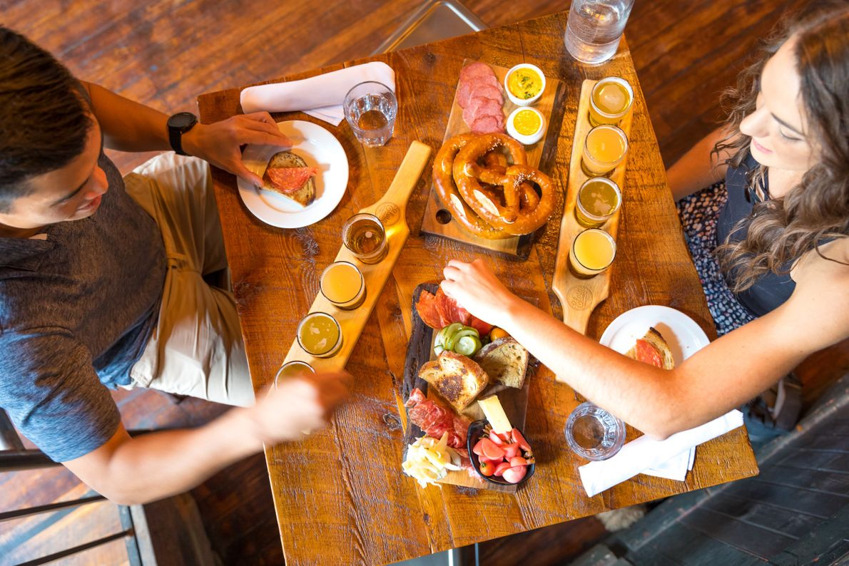 Playful beer pairings, on-site butchery, and charcuterie, and its dedication to local farms, makes Elora Brewing ...