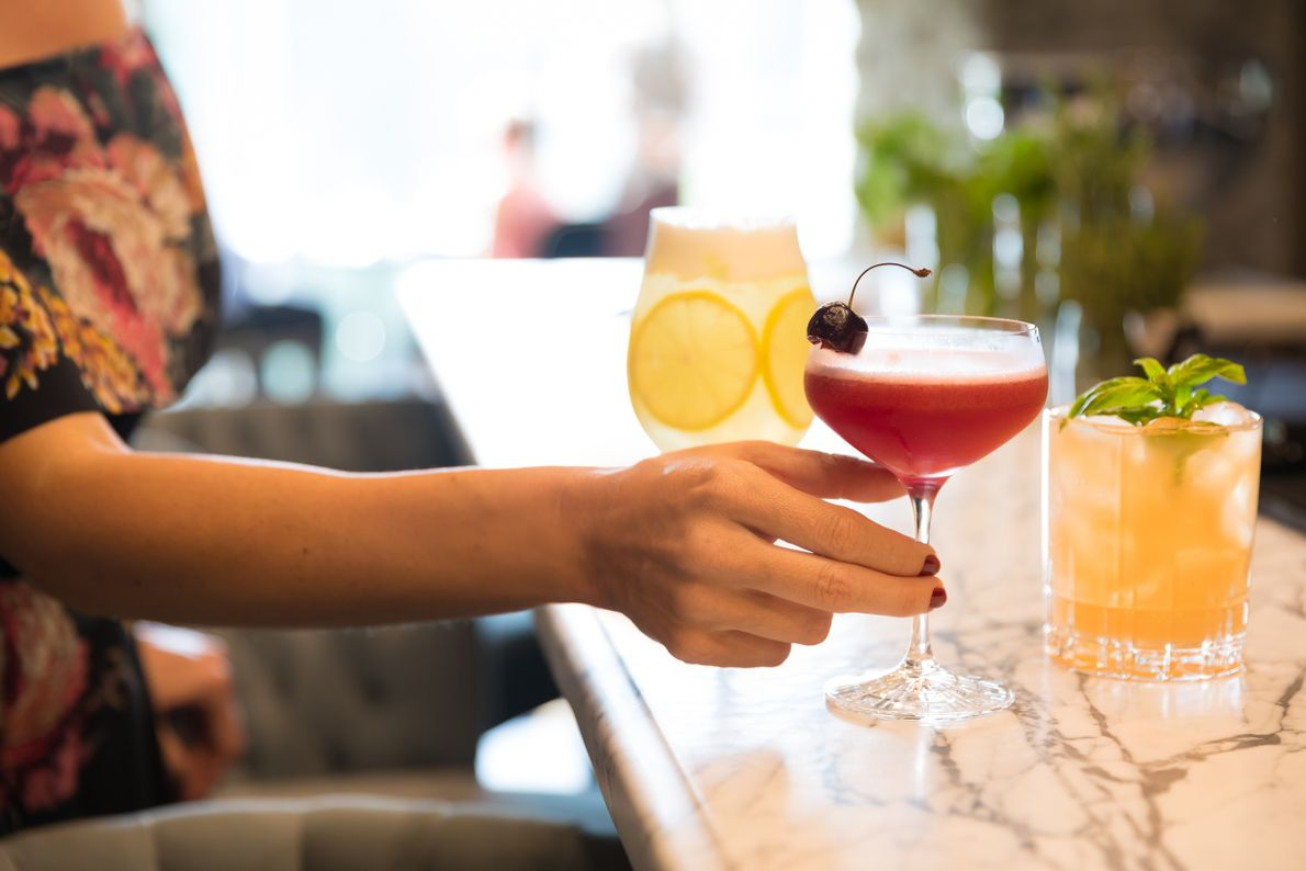 The Mill Inn offers craft cocktails served both in their elegant bar within their Elora Mill ...