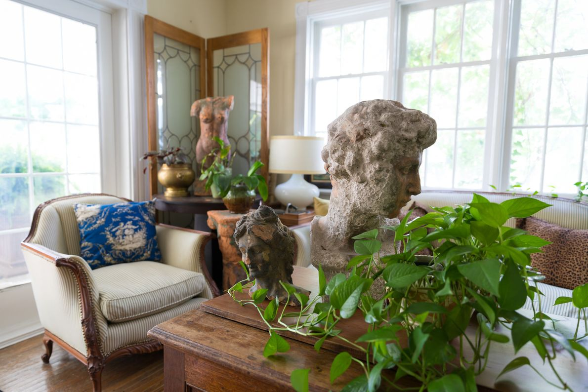 The interior of Elora's White Garden, a century-old home nestled in the heart of Elora that ...