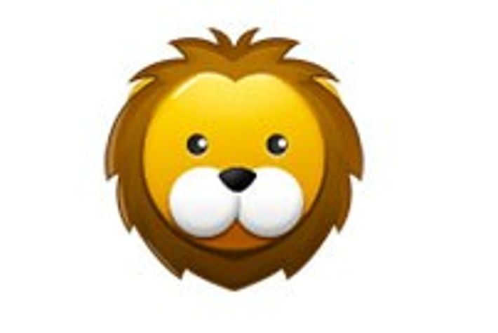 Lions do not have white cheeks as depicted in this emoji.