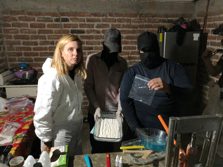 in Mexico, two fentanyl cooks show their process.