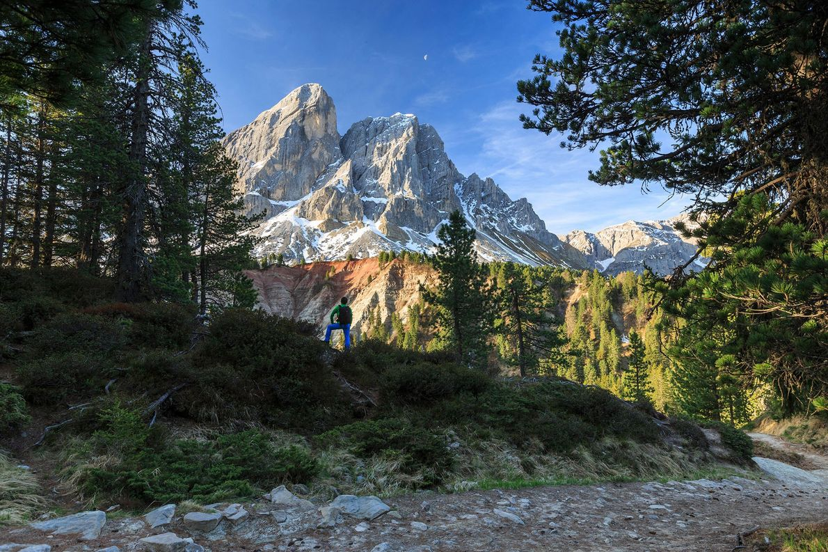 The chiseled Dolomites have a bounty of hut-to-hut hiking, but if you only have a day, …