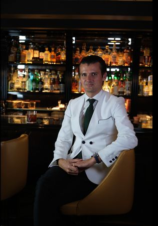 Erik now calls London home, adding 'bar owner' to his credentials with the 2019 opening of Kwant ...