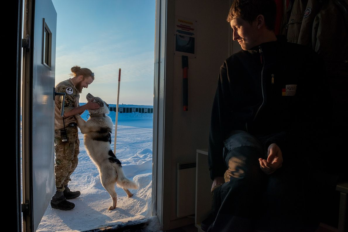 At this Arctic science base, life is anything but lonely