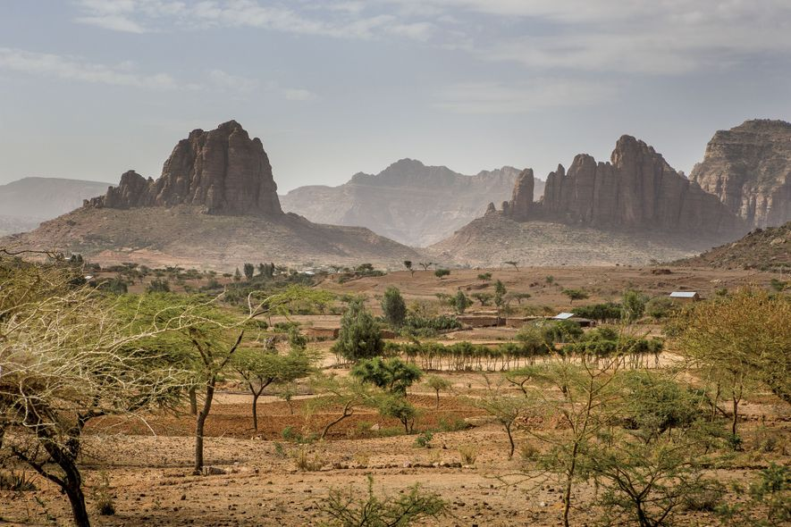 The Queen of Sheba legendarily ruled over this northern Ethiopian landscape of rocky outcrops and pastoral ...