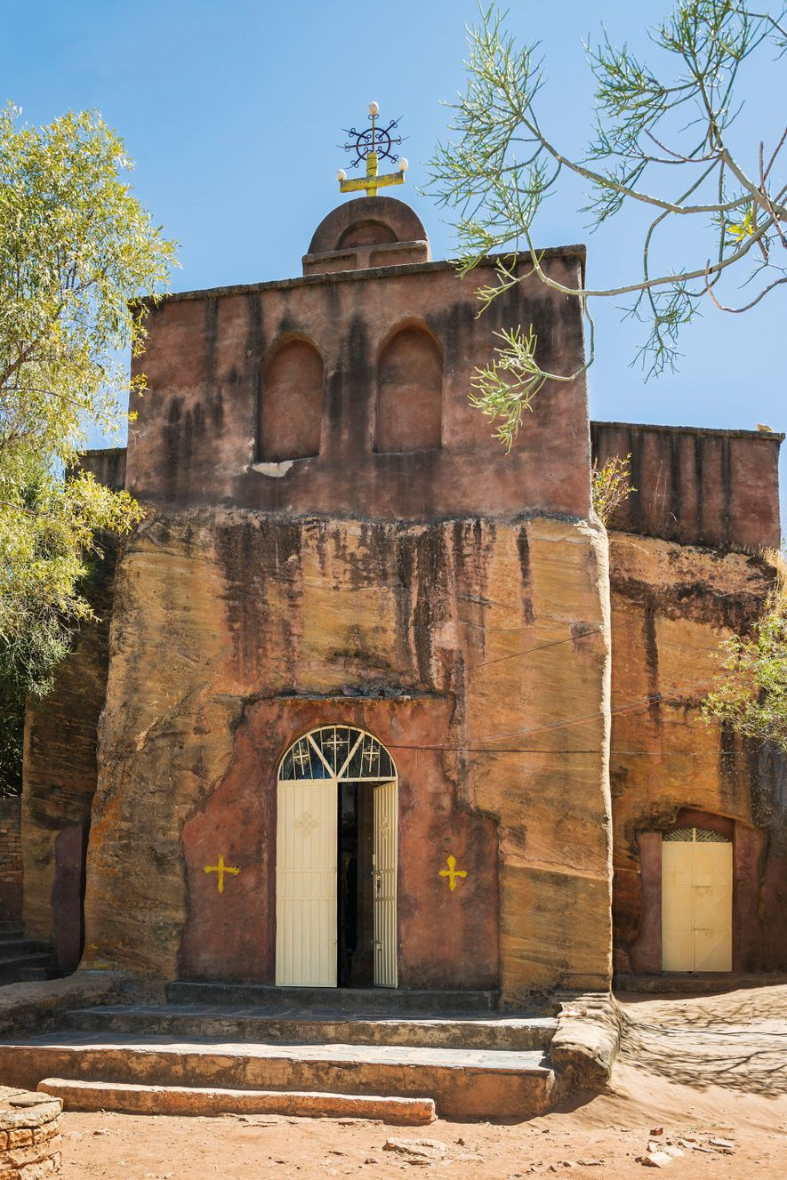 Debre Damo, one of the most inaccessible centres of Christianity in Ethiopia.