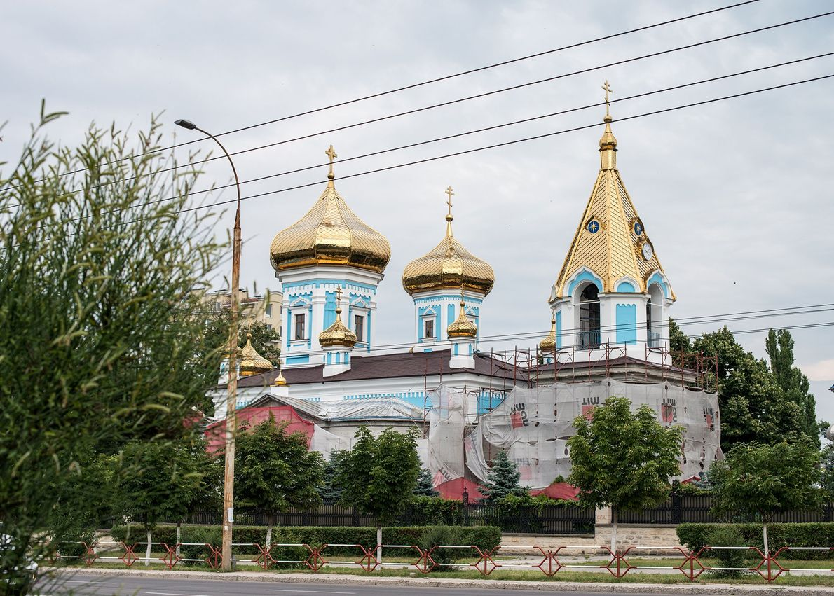 Ciuflea Monastery, Moldova