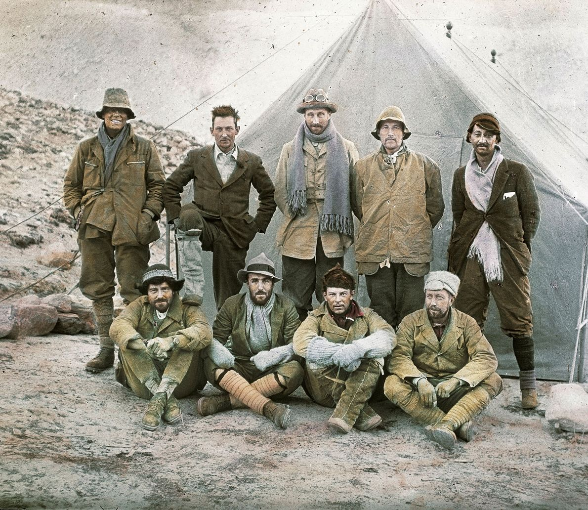 In 1924, George Mallory and an expedition team set off to conquer Mount Everest. Mallory vanished ...