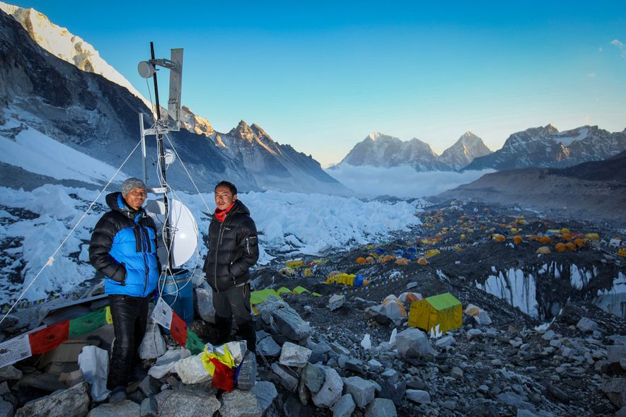 Meet the Sherpa bringing Wi-Fi to Everest