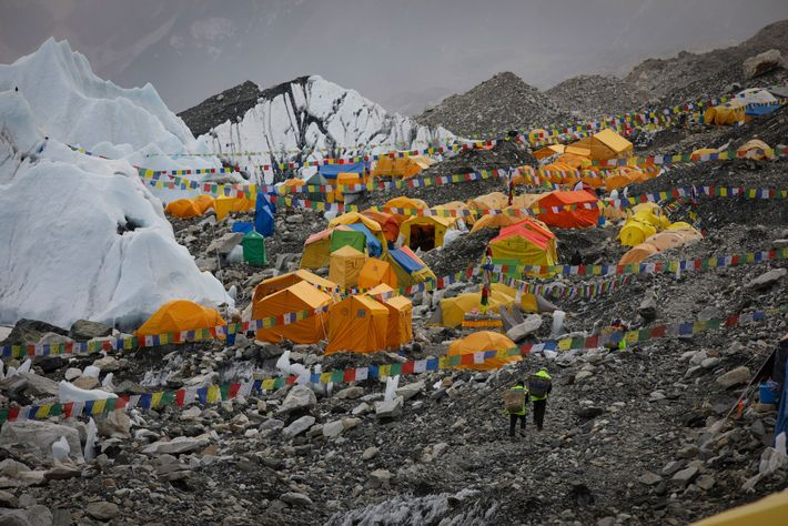 Before Everest Link brought wireless internet to base camp, climbers had to rely on expensive satellite ...