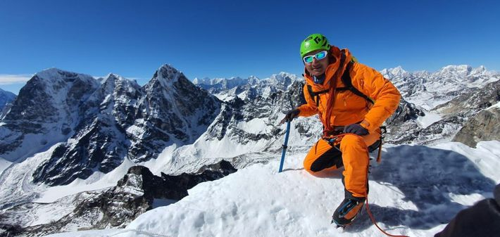 Tenji Sherpa, a Nepali mountain guide, was expecting his Everest clients to begin arriving in the ...