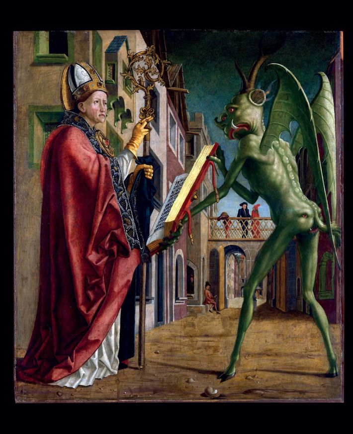 Early Christian authors, such as St. Augustine, regarded the devil as a fallen angel; he was ...