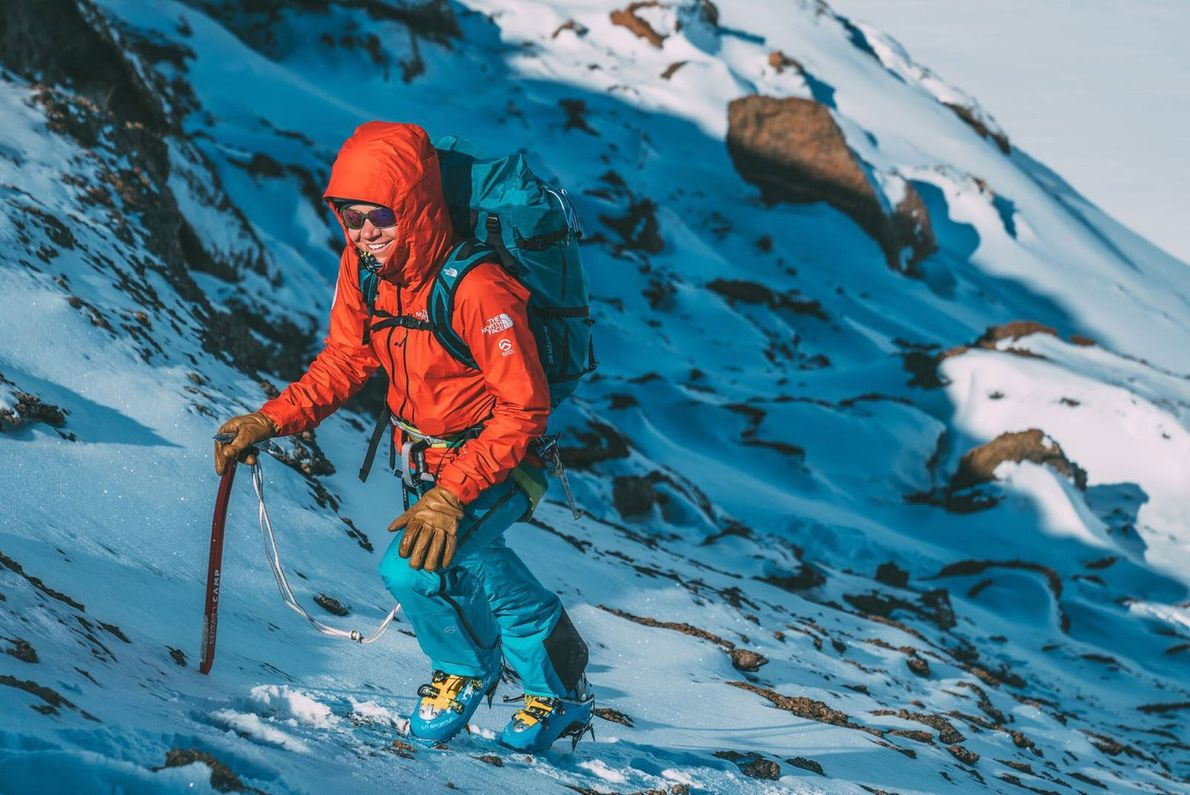 Anna Pfaff, 36, is one of the most experienced expedition climbers of her generation. An emergency ...