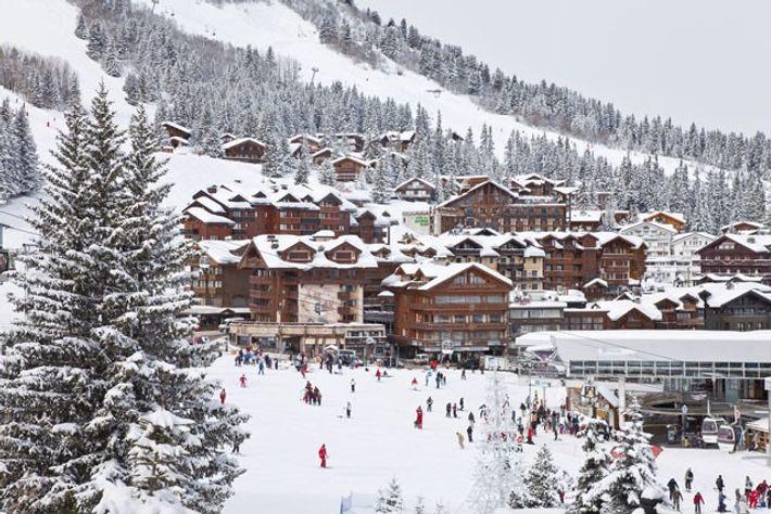 Courchevel 1850 ski resort in Les Trois Vallées, Savoie.