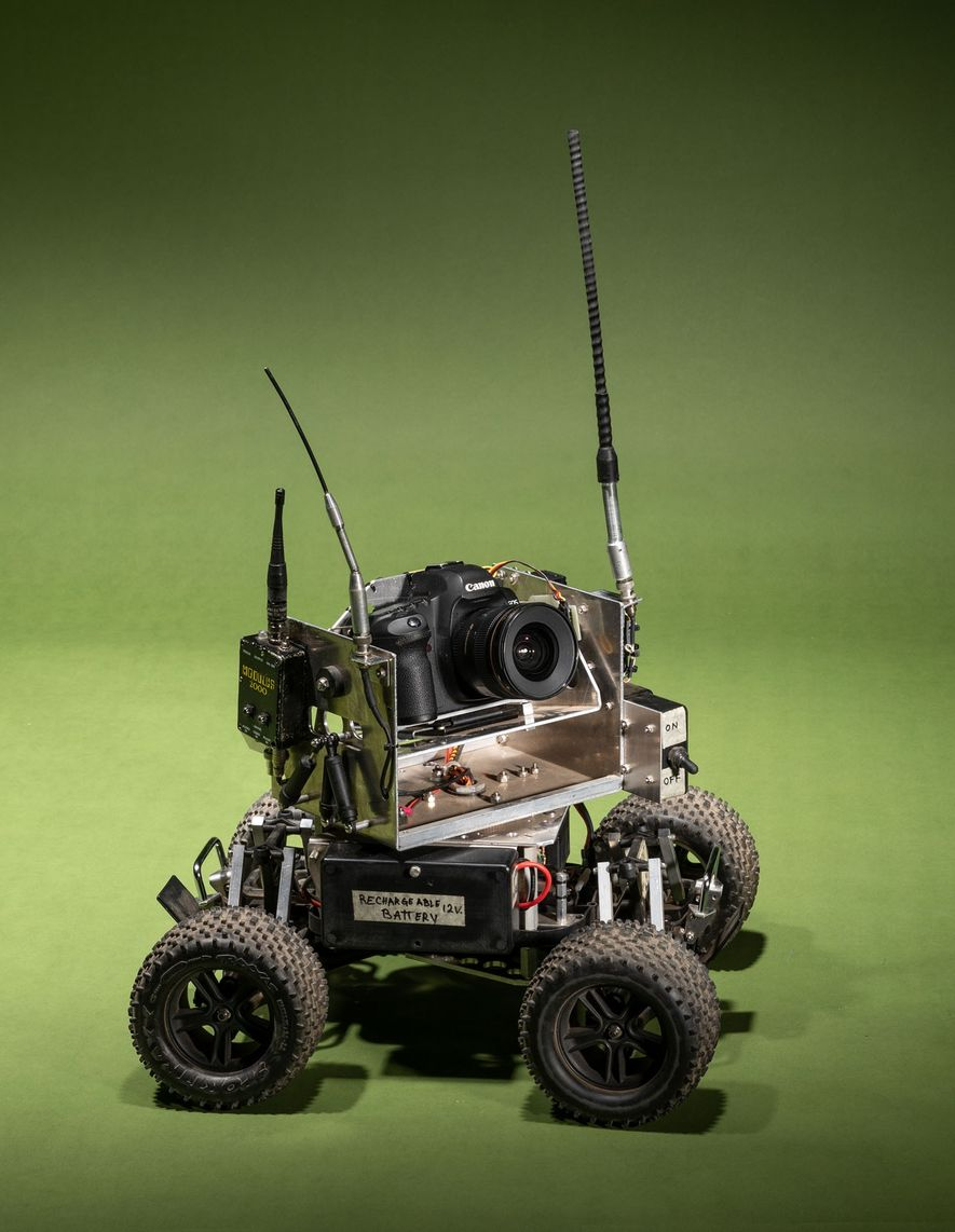 Steve Winter took this custom-made camera car on assignment to document tigers in a new way.