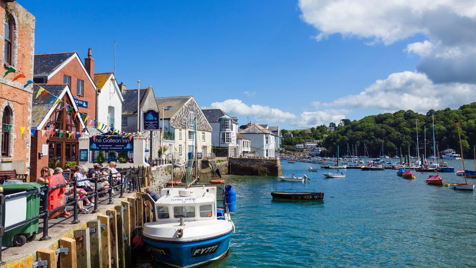 Fowey is one of south Cornwall's most postcard-perfect towns.