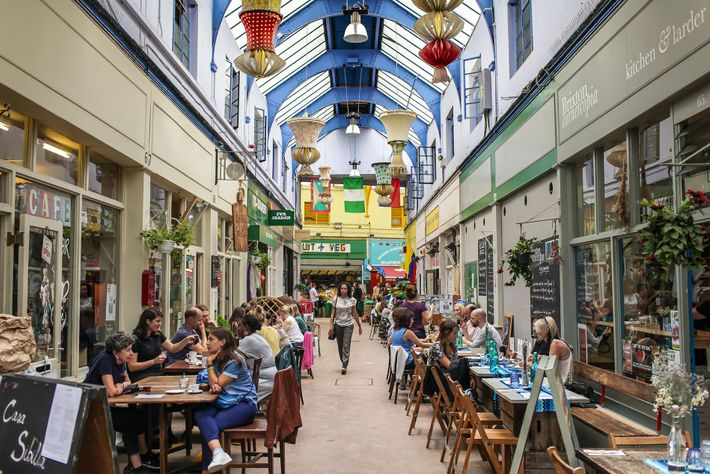 Brixton Market is a warren of alleyways and home to a brilliant array of stalls and ...