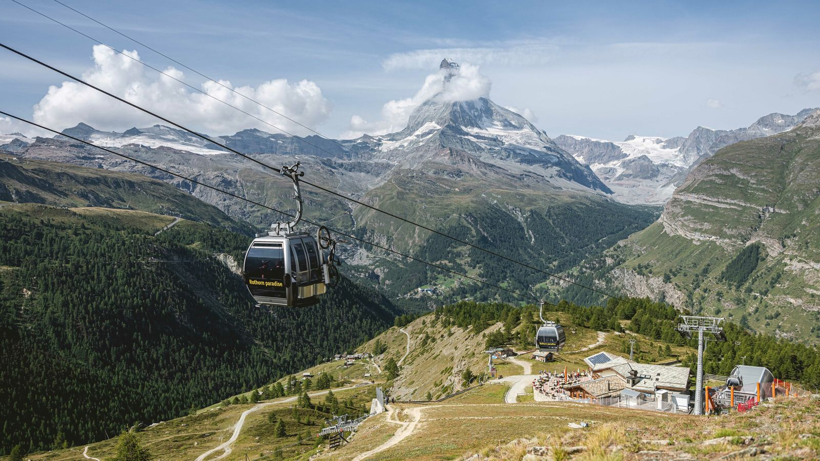 Zermatt is the ultimate base for nature lovers, with cable-cars winging you ever higher to the ...