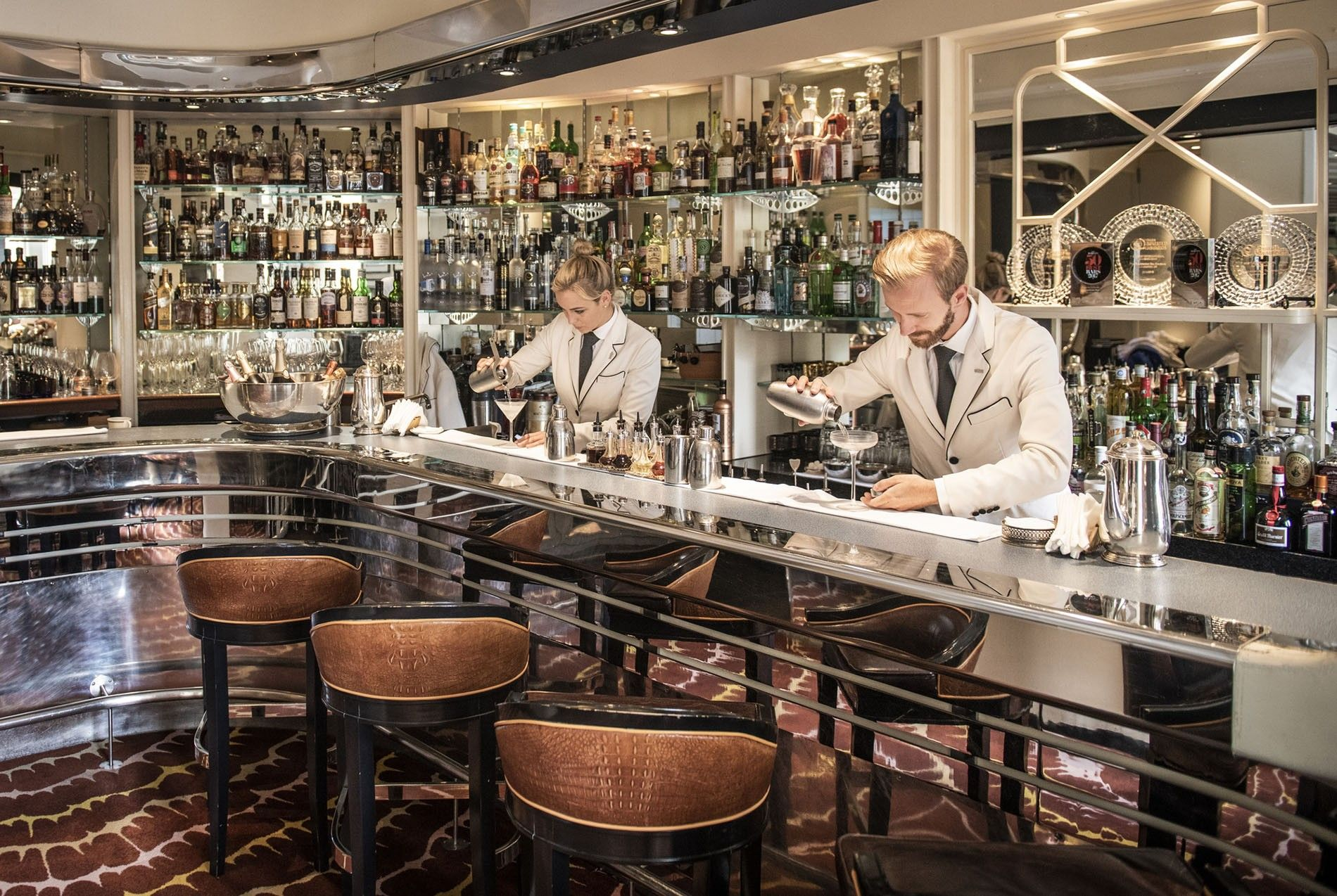 American bar, The Savoy
