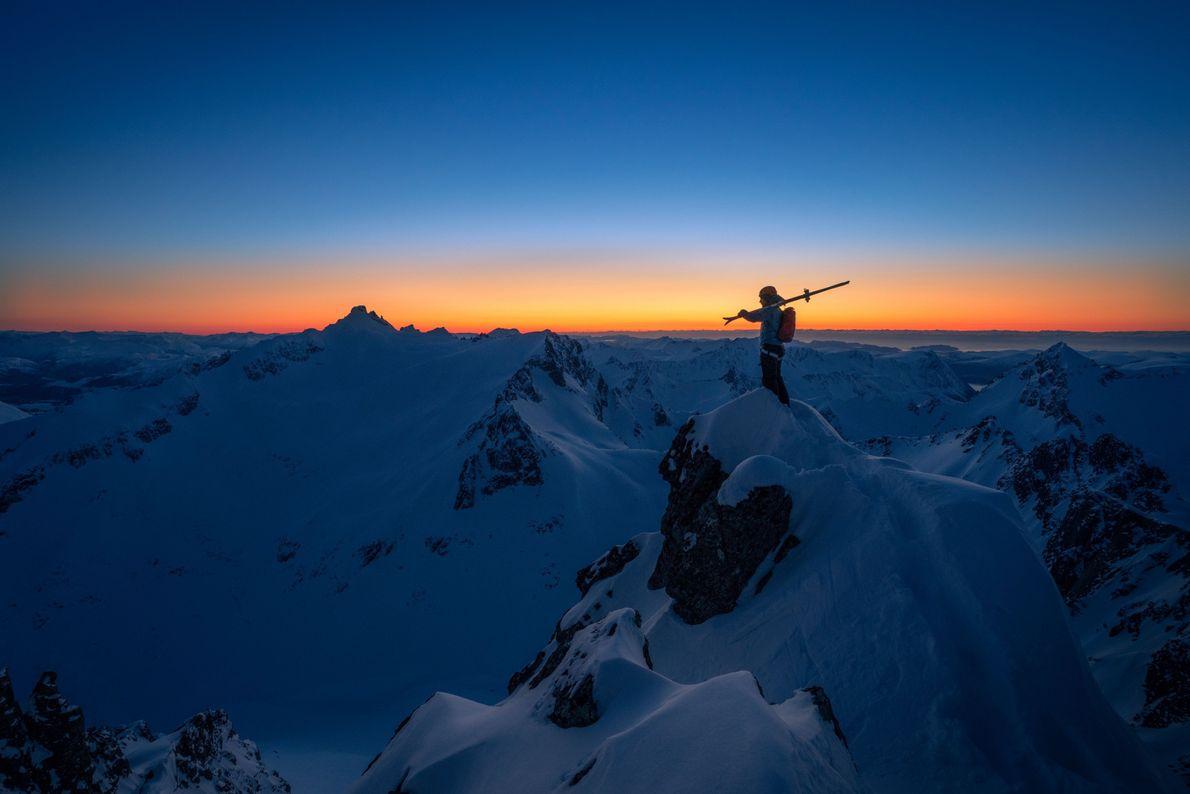 Skiing in Sunnmøre