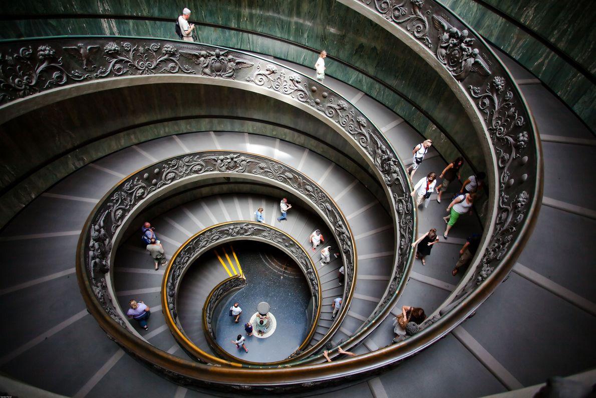 In a Spiral
