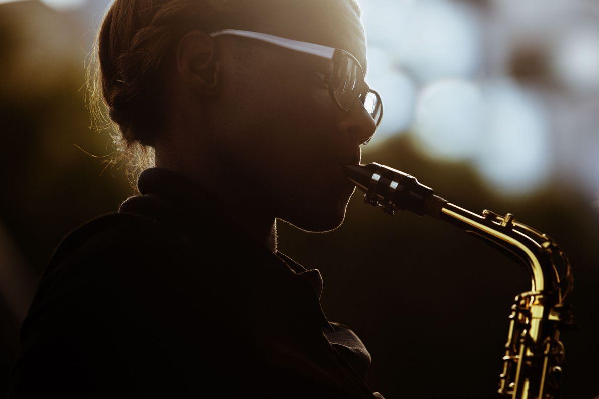 Golden Saxophone