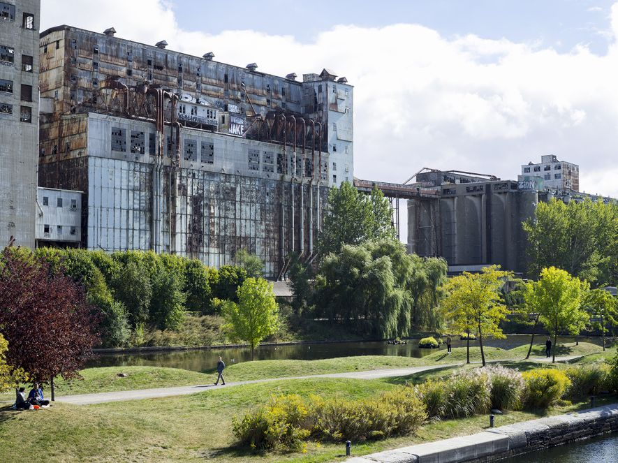 Once a busy grain elevator complex, Silo No. 5 is now a rusting landmark—and popular sightseeing ...