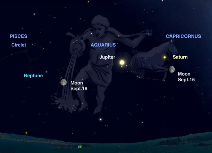 Fall stargazing chart 1