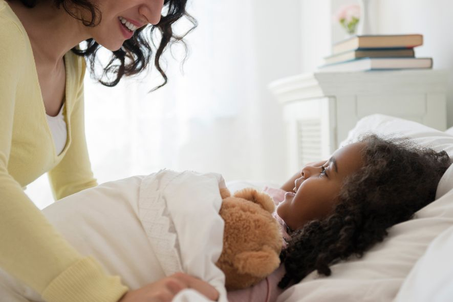 Setting a schedule for kids at home