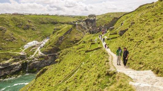 Tintagel Castle, Cornwall: Tales of King Arthur