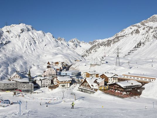 Family ski: can small people tackle St Anton's legendary big slopes?