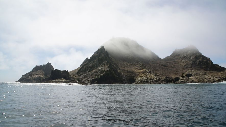 The Farallon Islands National Wildlife Refuge.