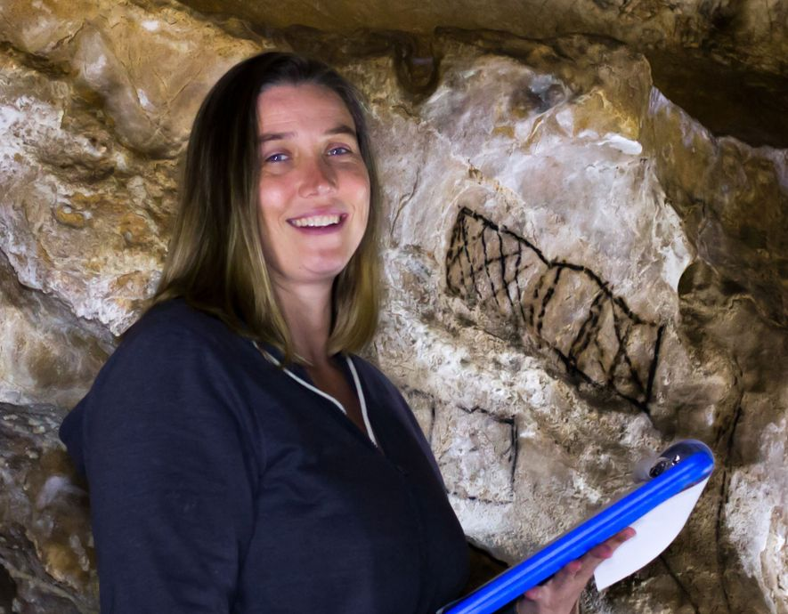 As a paleoanthropolgist, Genevieve von Petzinger wriggles and squeezes through European caves in search of mysterious ...