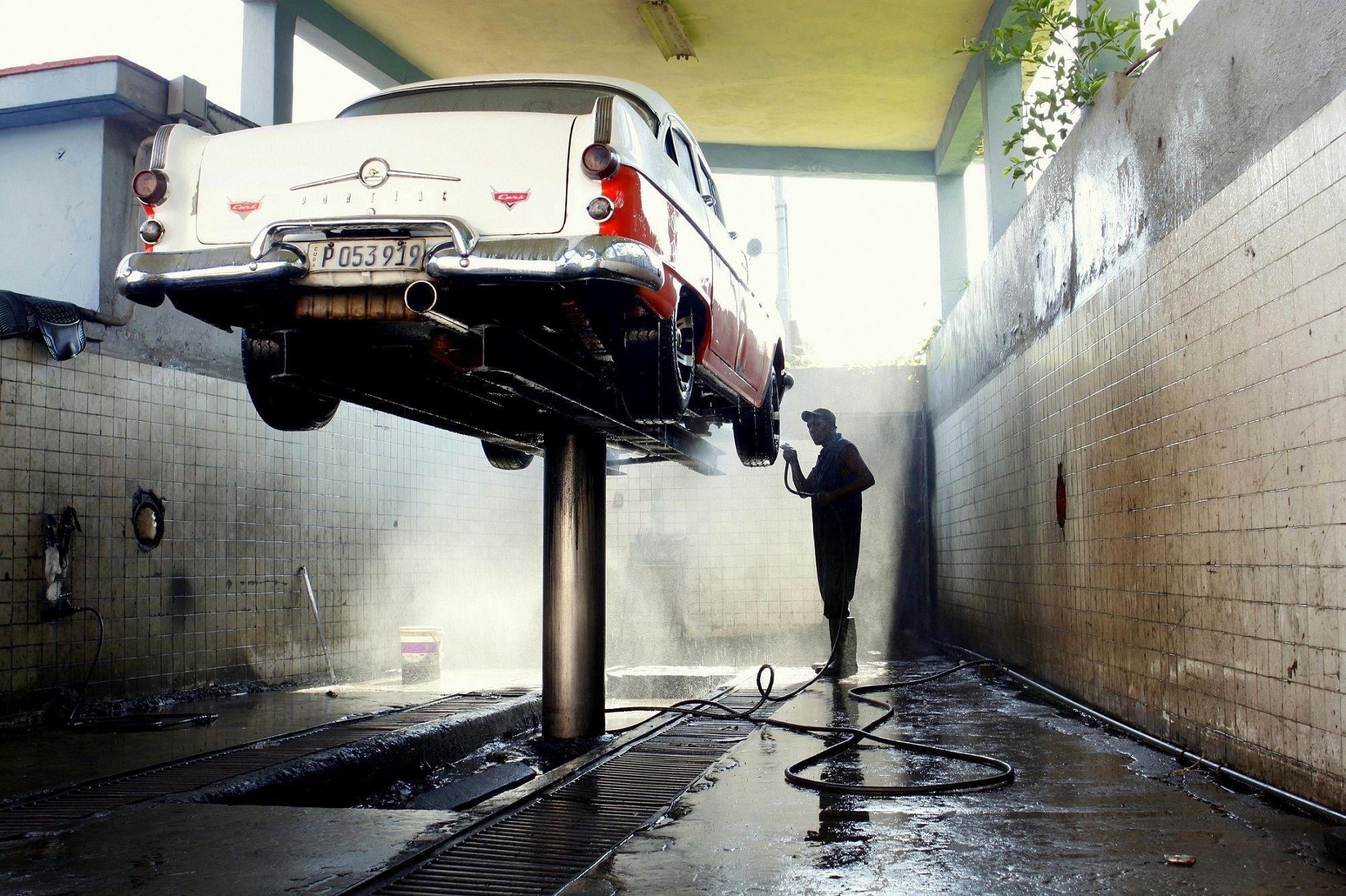 Working at the Car Wash