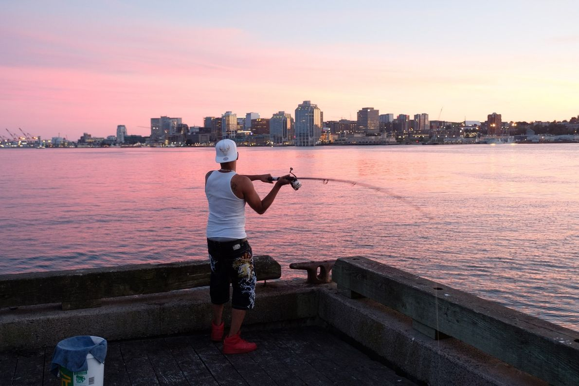 The best place to watch the sunset in Halifax is on the Dartmouth waterfront, a quick ...