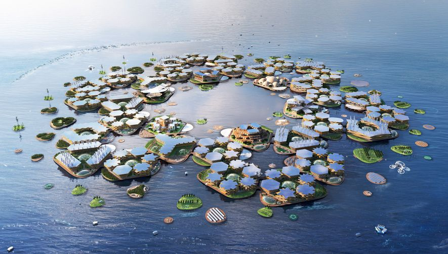 Floating cities could ease the world's housing crunch, the UN says