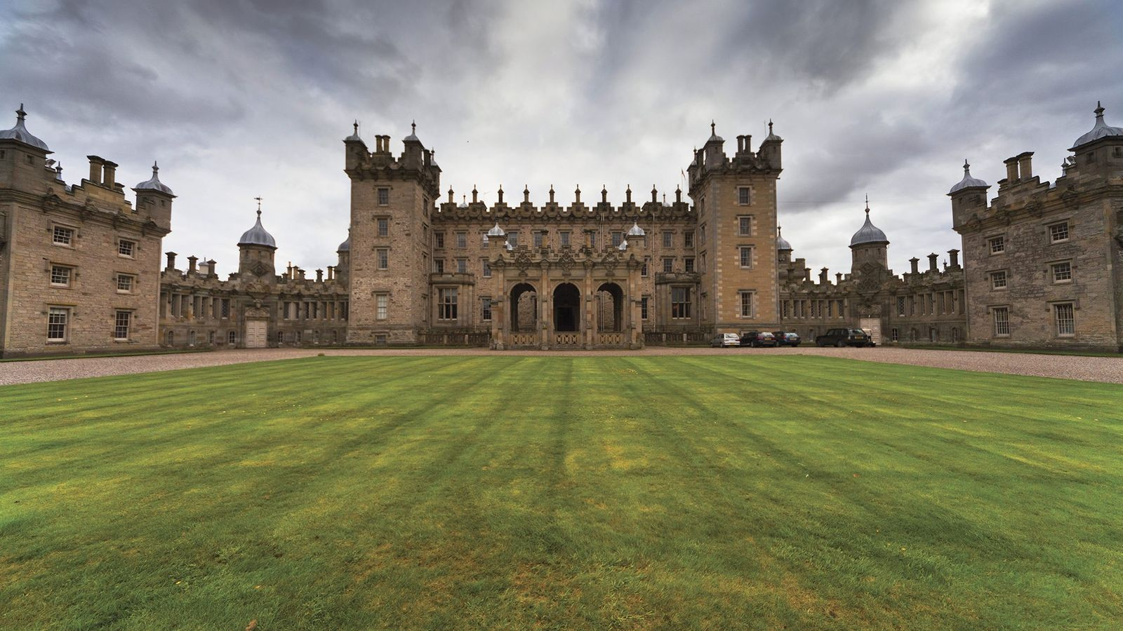Your whims will be accommodated at the Floors Castle in Scotland.
