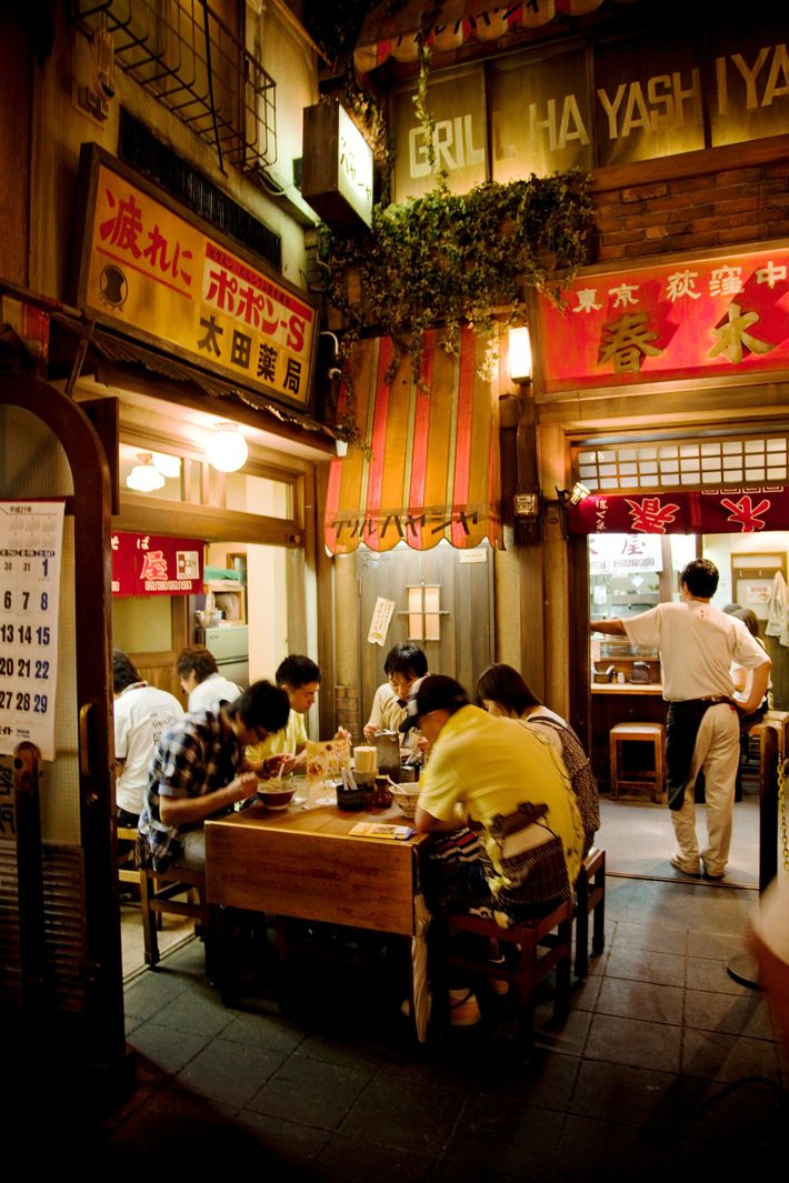 The Shin-Yokohama Raumen Museum bills itself as the first museum in Japan devoted to food.