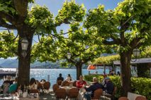 Bellagio is known for its winding cobbled lanes, elegant buildings and Villa Serbelloni Park, a terraced ...