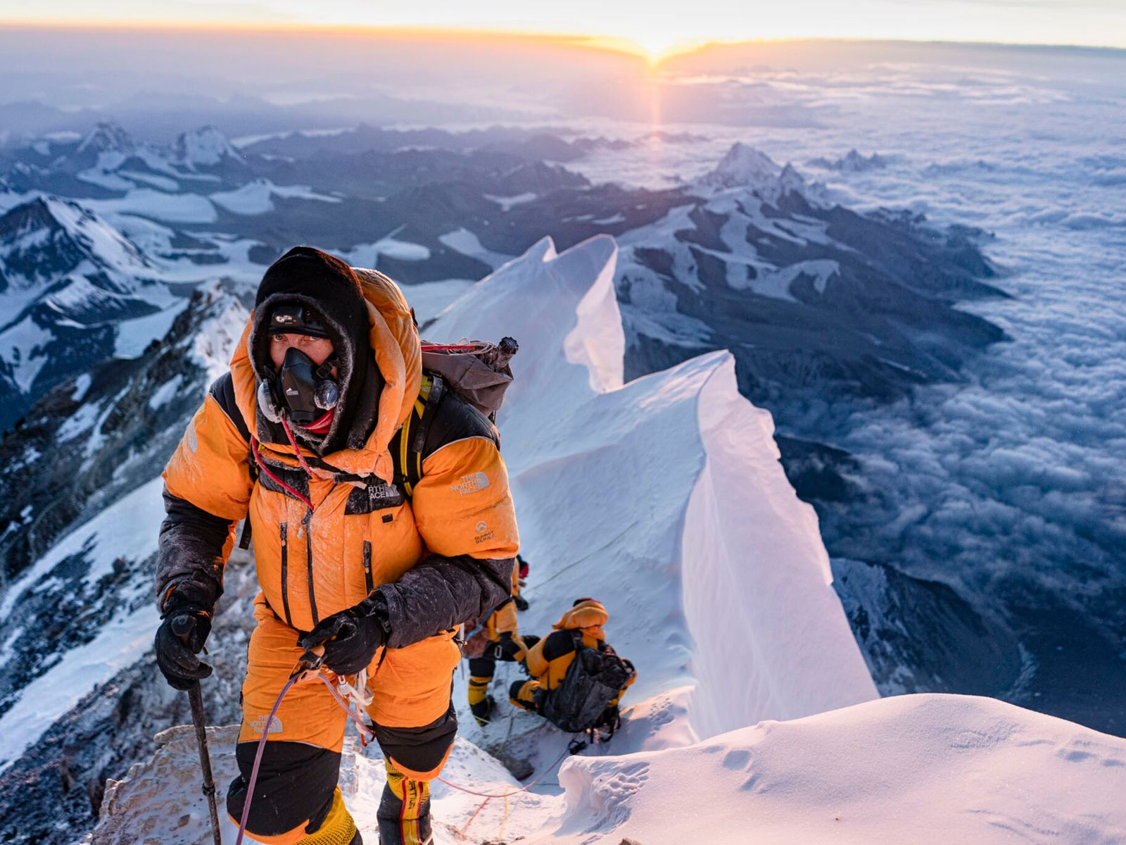 Mark Synnott climbs Everest's North Face