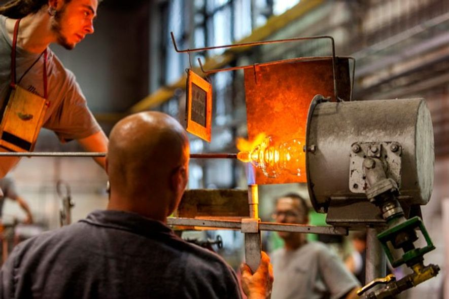 Moser glassworks